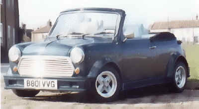 Mini ERA Bodykit - Seamlessly blended